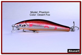 "Akuna Phantom  3.5 inch Shallow Diving Lure in color ""Desert Fox"" [BP 32-79]"