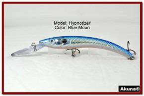 "Akuna Hypnotizer 5.9"" Diving Fishing Lure in Blue Moon [BP 82-95]"