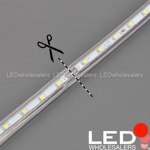 Led Rope Light Section Not Working: 328-Feet 120-Volt Cuttable Waterproof Flexible LED Light