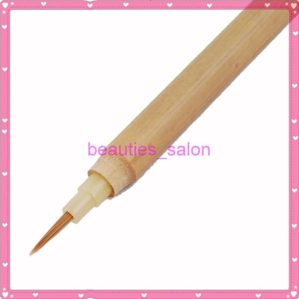 Acrylic Nail Art Painting Brush Small Brush Bamboo Pen | eBay