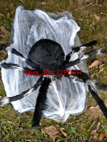 Animated jumping spider on shoppinder for Animated spider halloween decoration