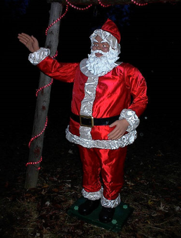Outdoor life size santa claus related keywords