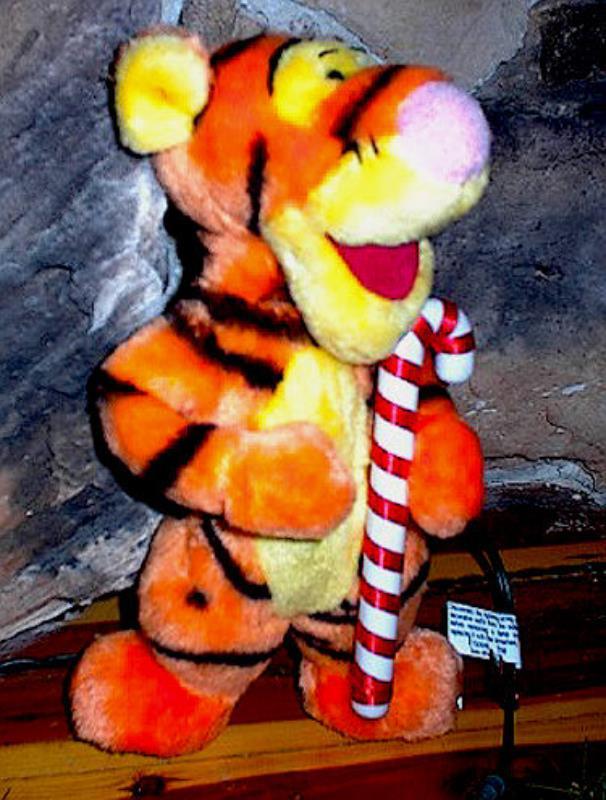 Tigger Christmas Tree Topper