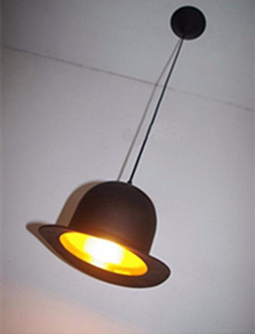 Nuova Retrò Vintage Cappello Lampadari da Cucina a Sospensione ...
