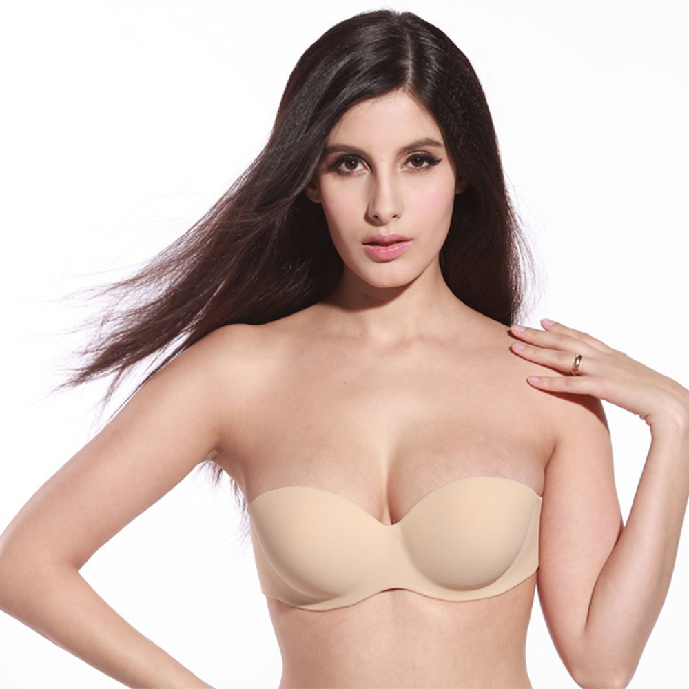 how to make a strapless bra push up