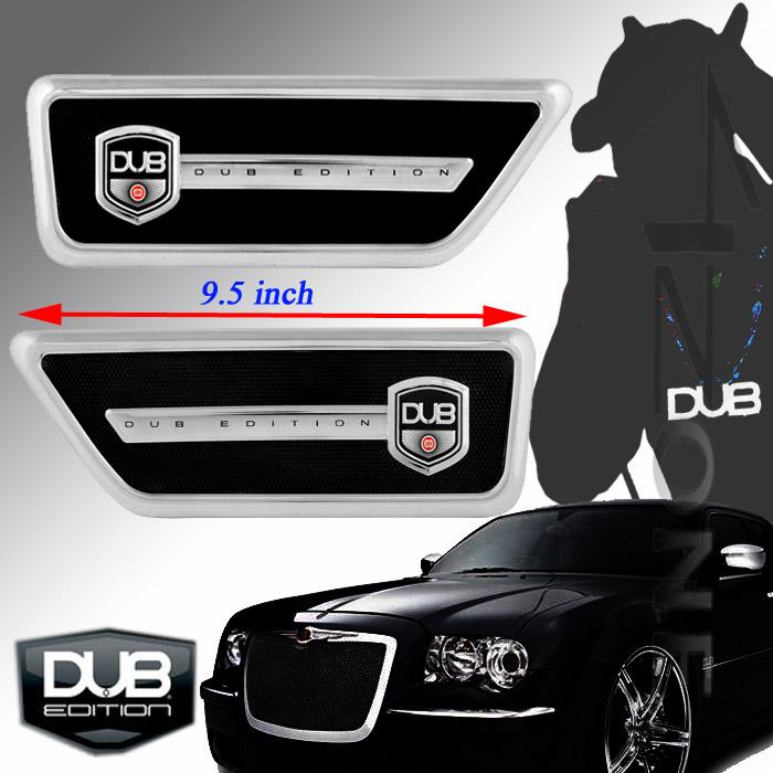 Dub Edition Fender Vents Port Mercedes Benz BMW Mitsubishi Cadillac