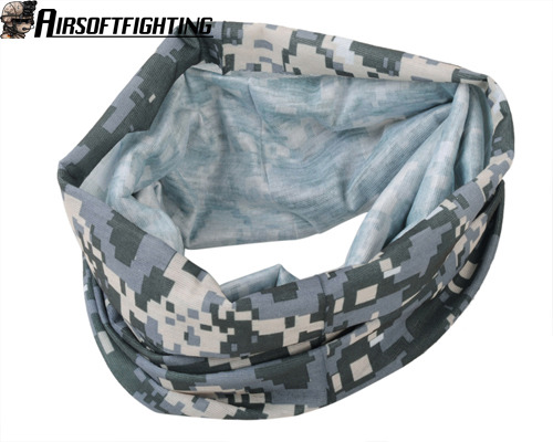 Tactical-Multifunctional-Balaclava-Scarf-Half-Face-Mask-Paintball-Walking-ACU