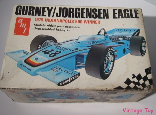 Gurney jorgenson indy eagle indianapolis 500 race car model kit t255