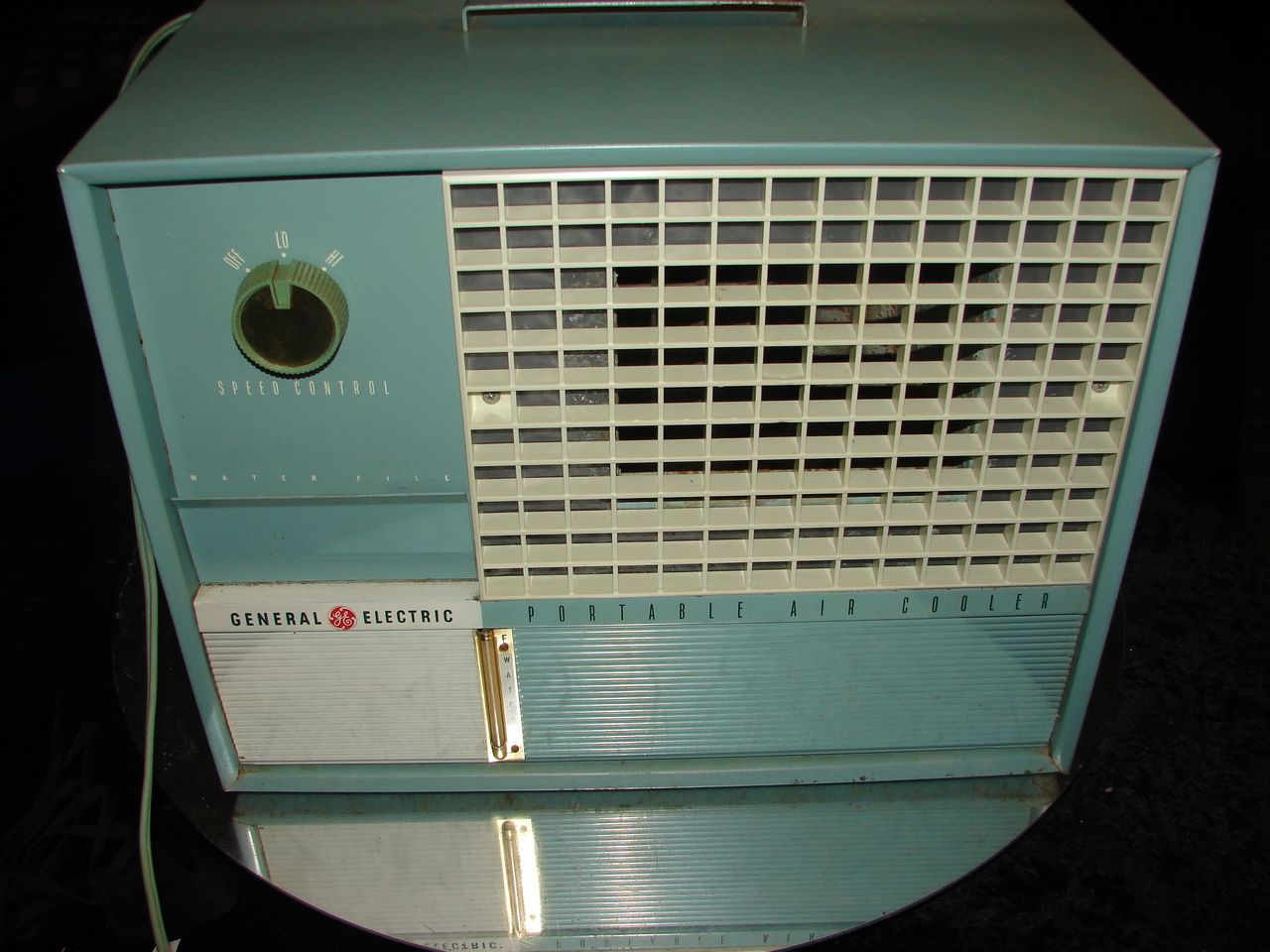 GENERAL ELECTRIC AIR COOLER CONDITIONER RETRO SWAMP COOLER GE COOOOOL #7B7950