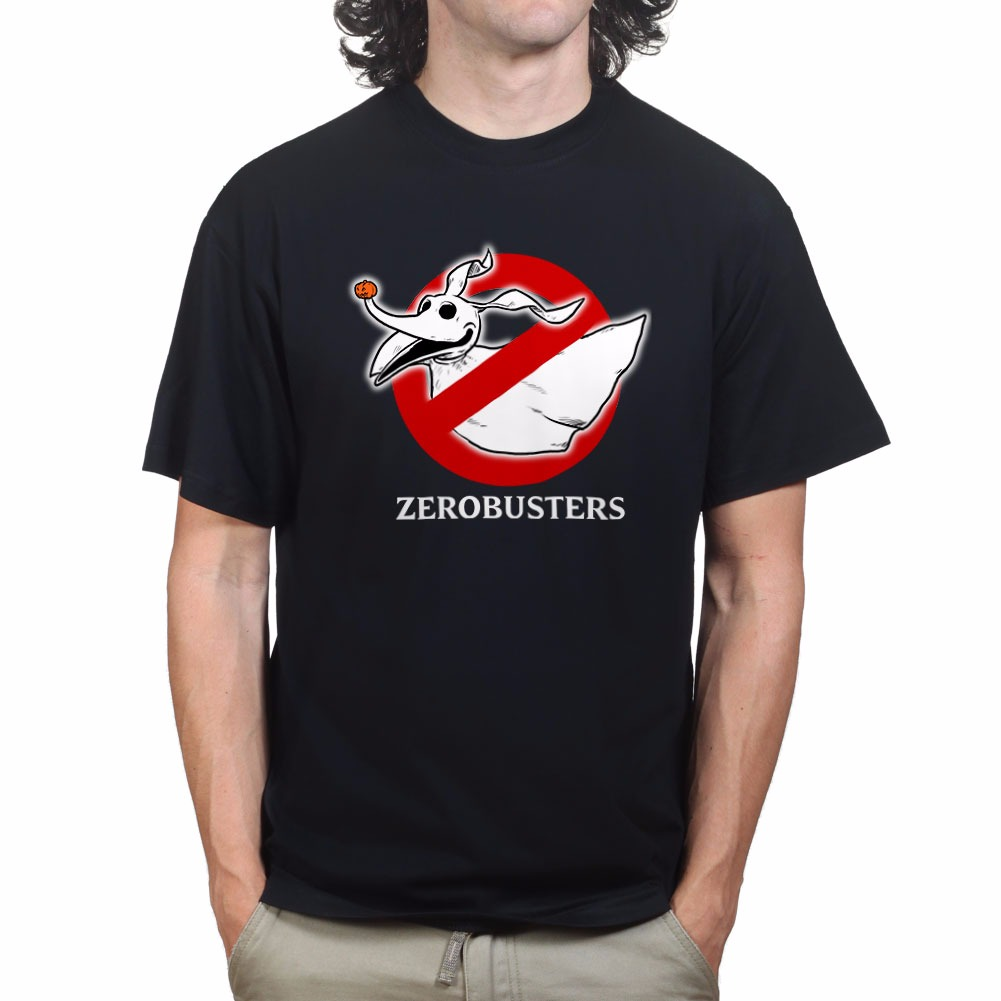 Ghost Zero Busters Nightmare Before Christmas T-shirt R259 | eBay