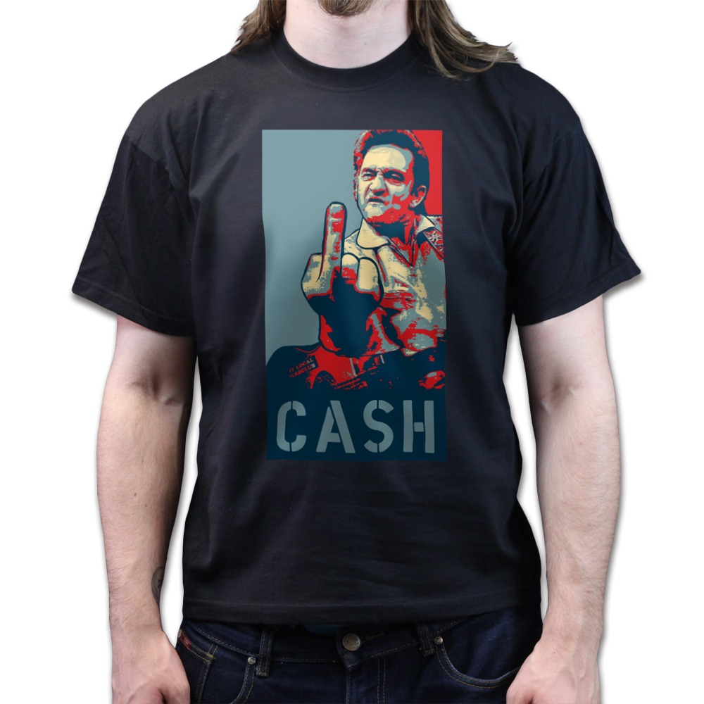 Johnny cash rebel t shirt logo - Johnny Cash F K You Obey Disobey Country Blues Rebel T Shirt