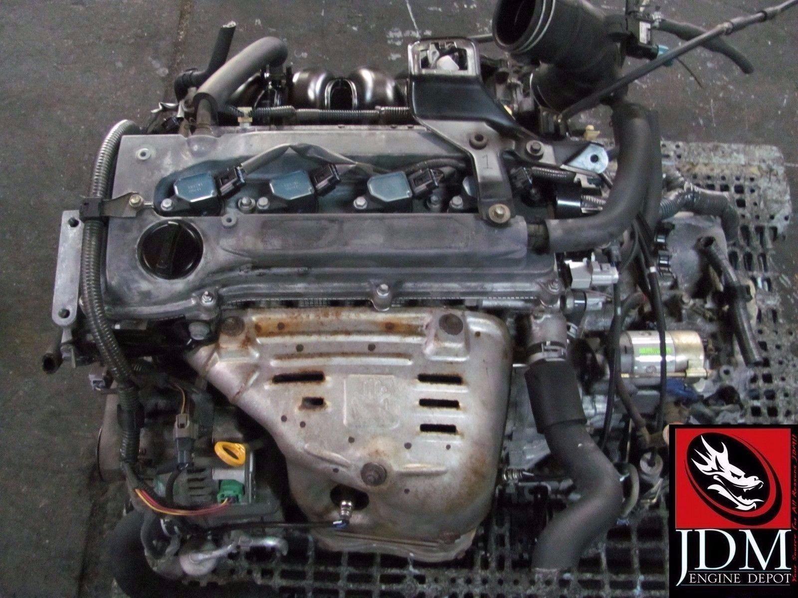 09 11 toyota matrix xr 2 4l twin cam 4 cylinder engine jdm 2az fe 2az ebay