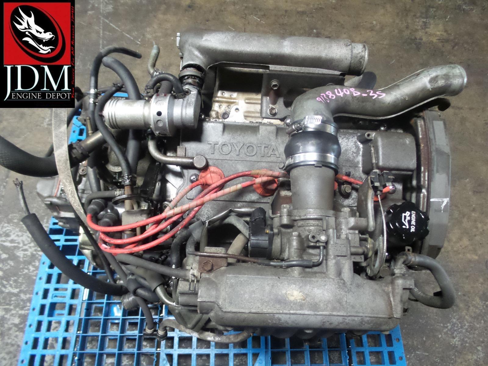 91 93 Toyota Mr2 Sw20 2nd Gen Turbo Engine 5spd