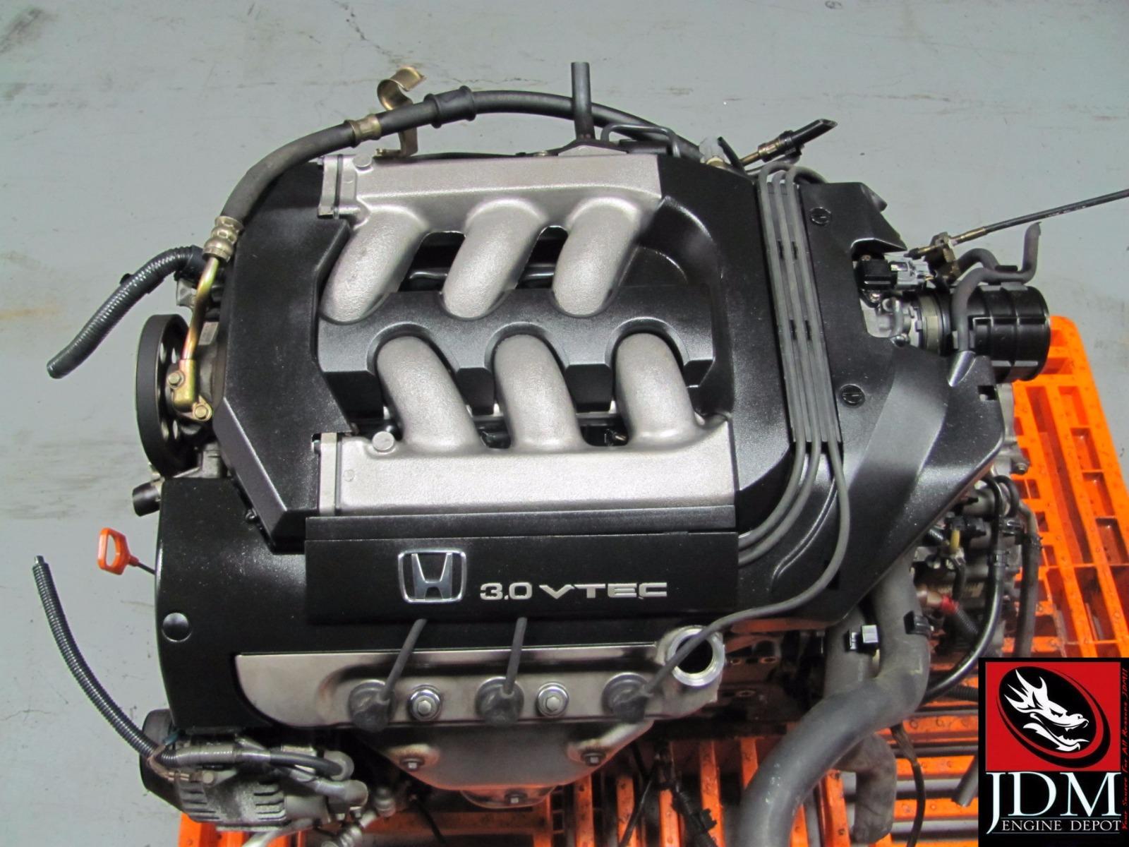 Motor Honda Accord 98 1999 Vtec Engine 1998 3 0l Sohc V6 Distributor Style