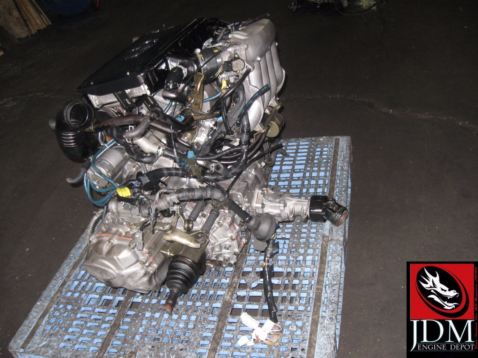 98 03 Toyota Caldina St215 20l Turbo Engine Transmission Wiring Ecu This Listing Is For A Used Motor Set Imported From Japan