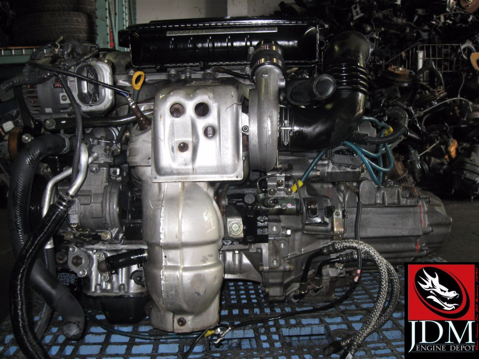 98 03 Toyota Caldina St215 20l Turbo Engine Transmission Wiring Ecu Jdm 3sgte