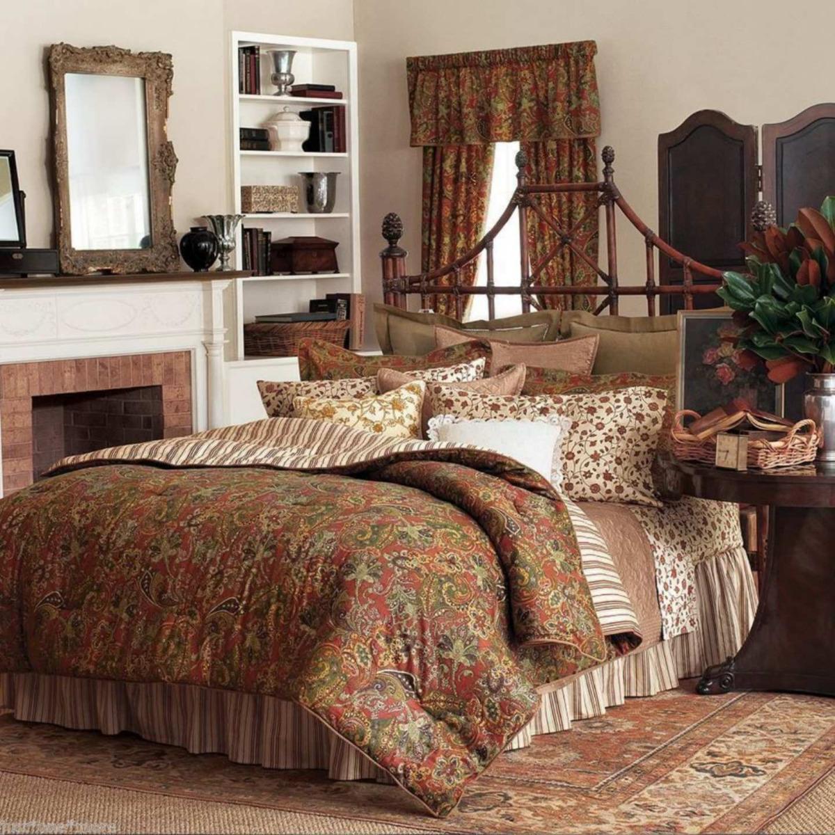 chaps ralph lauren-chandler matelasse coverlet bedspread paisley