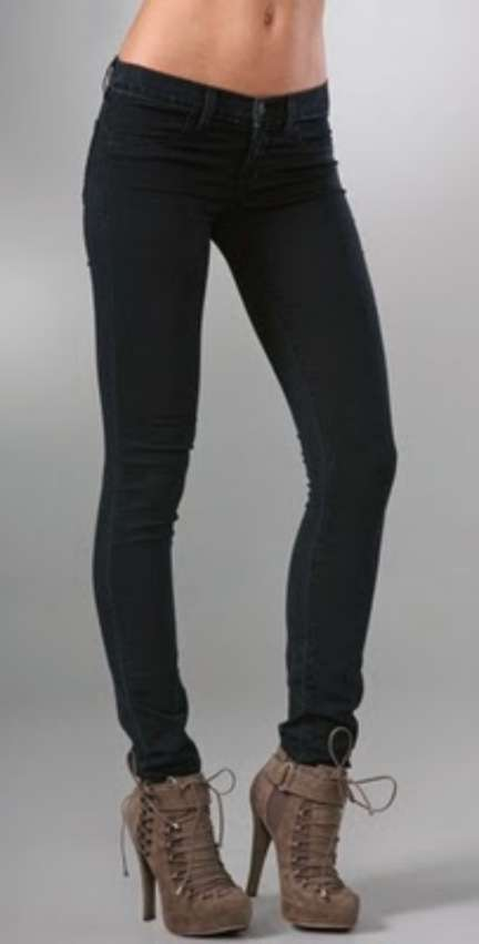 139-NEW-J-BRAND-JEANS-901-Stretch-Skinny-LEGGING-Jeggings-PITCH-BLACK-26-27-30