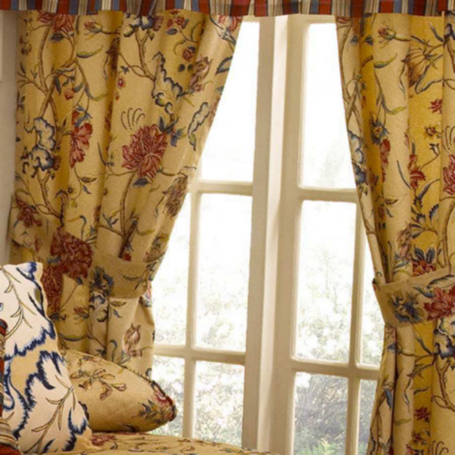 ... -SPICE OF LIFE Sesame Belk Drapes Lined Panel Pair Curtains 100 x 84