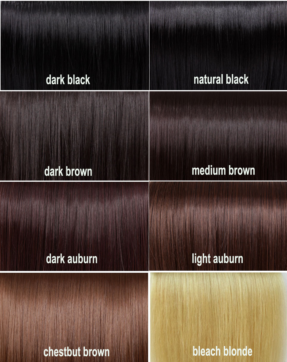 Dark Copper Brown Hair Color Chart Dark Hair Color Chart