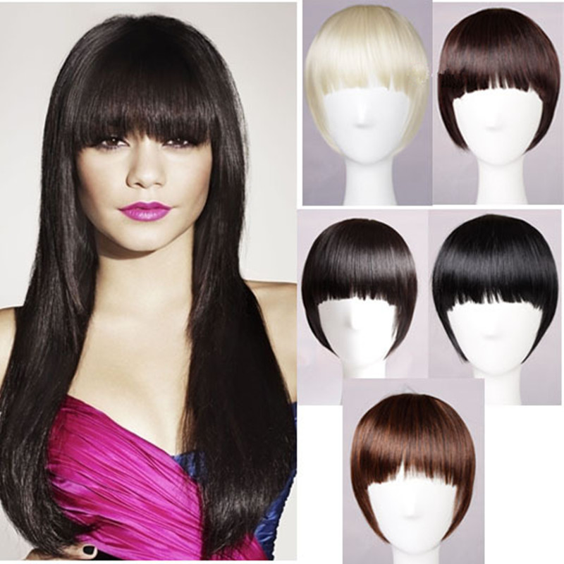 Black hair bangs extensions indian remy hair black hair bangs extensions 48 pmusecretfo Images