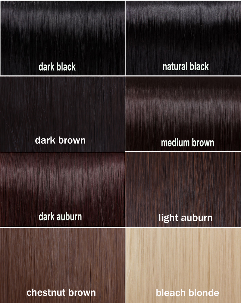 Black Hair Color Chart Related Keywords & Suggestions - Black Hair ...