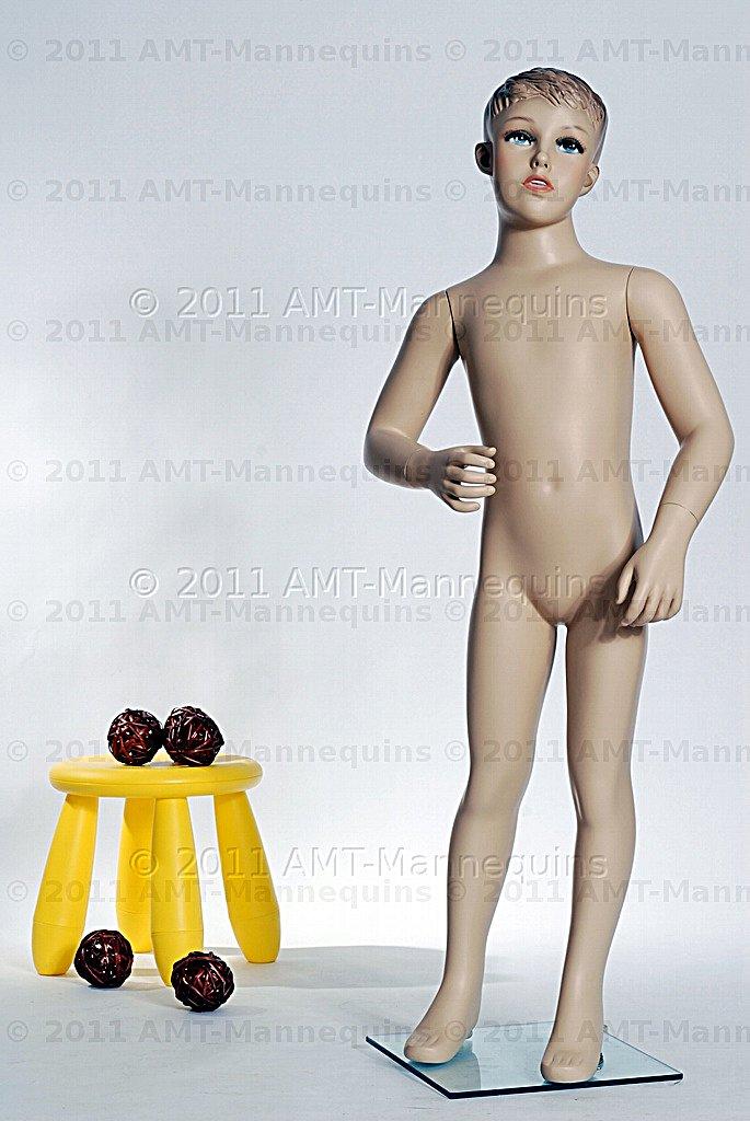 amt mannequins standing child mannequin boy model sky