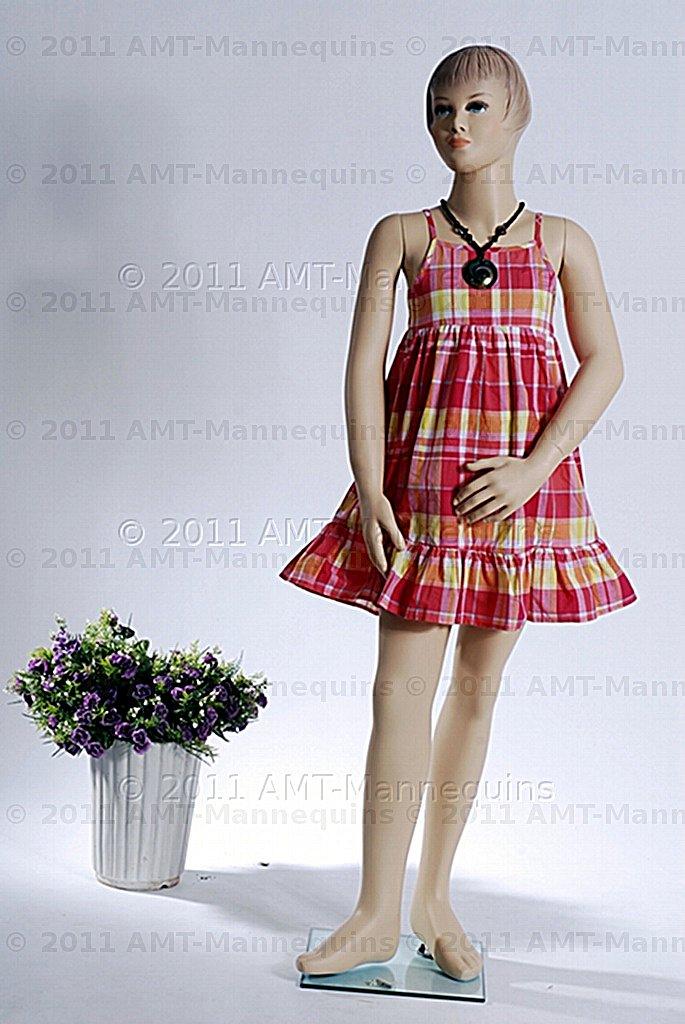 amt mannequins standing female girl child mannequin model pet