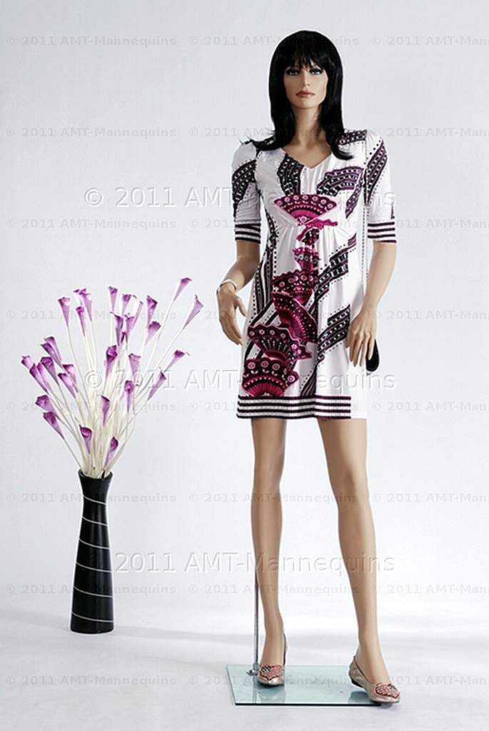 amt mannequins standing female mannequin model di 2wigs shown