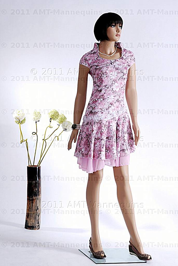 Female Mannequin Realistic Looking Formal Manikin Amy 1 Wig W008