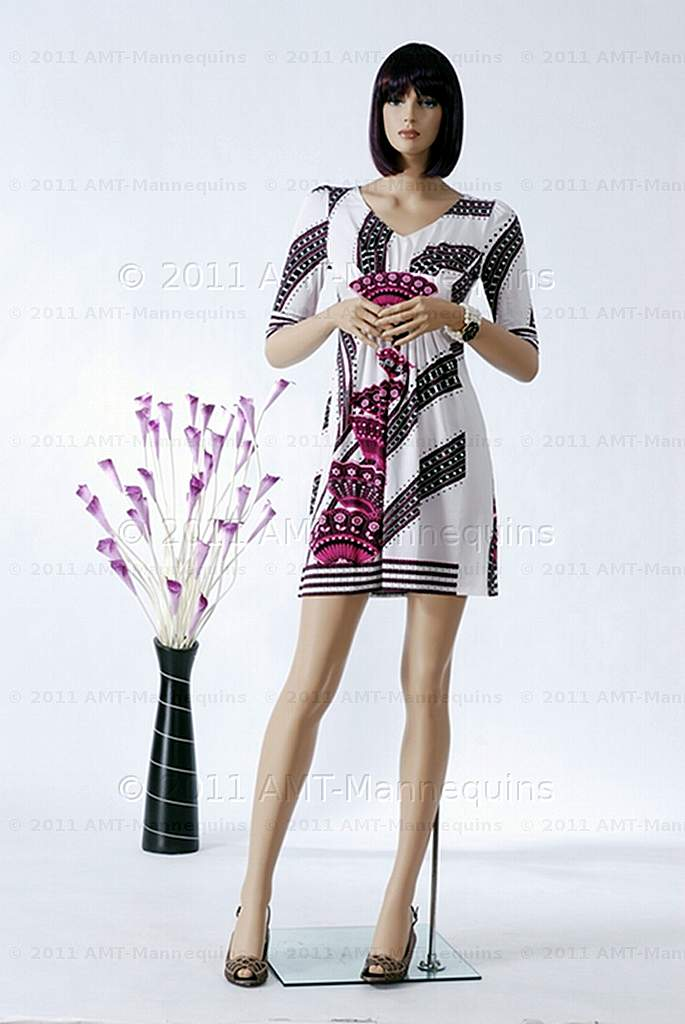 Female Mannequins on Sale with Bent Arms Standing Full Body Manikin