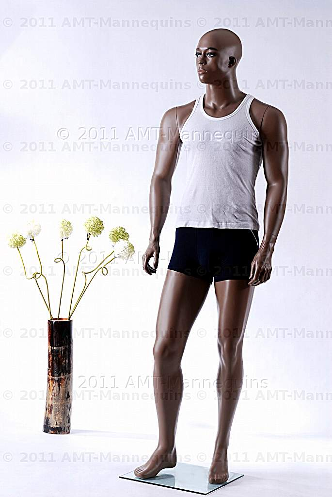 Male full body mannequins African American male manikin display