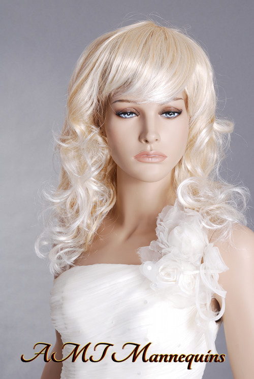 amt mannequins standing female mannequin model nancy 1 wig shown