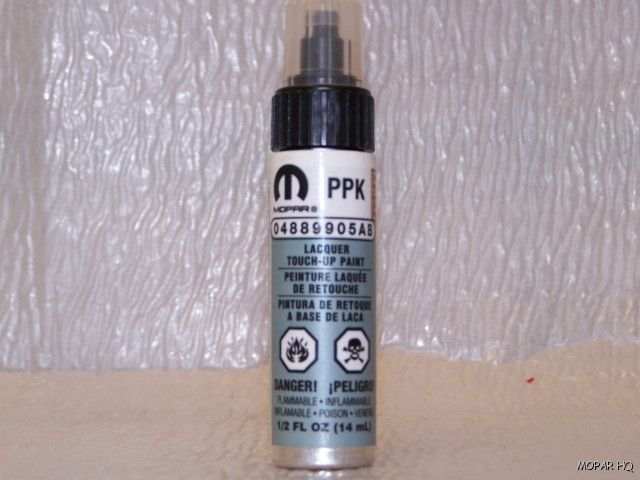 Chrysler Dodge Jeep Touch Up Paint PPK