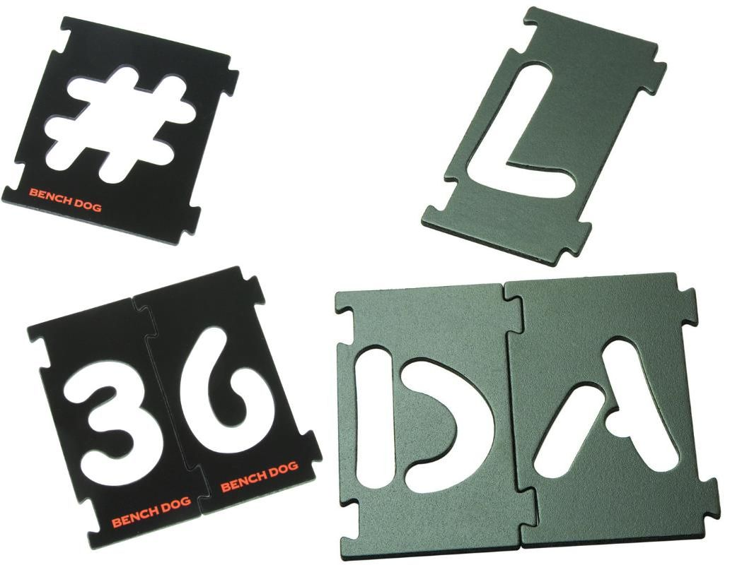 BenchDog-Interlocking-Signmaking-Templates-Letters-Numbers-Symbols-Sign-Router