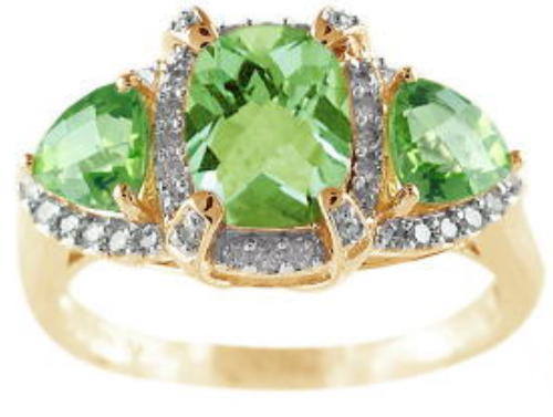 Click for Peridot Jewelry