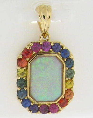 Click for Rainbow Sapphire Jewelry