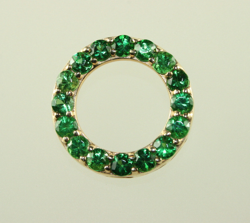 Click for Tsavorite Jewelry