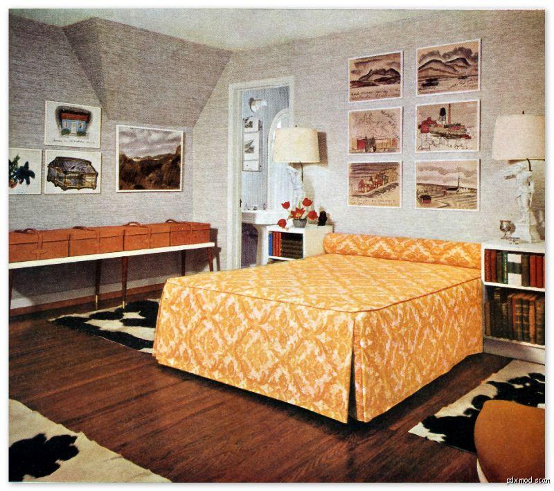 24 Mid Century Modern Interior Decor Ideas: 1960 EAMES ERA INTERIOR DECORATING DESIGN IDEAS Mid