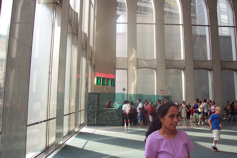 How Did Inside Of The World Trade Centers Look Liberty