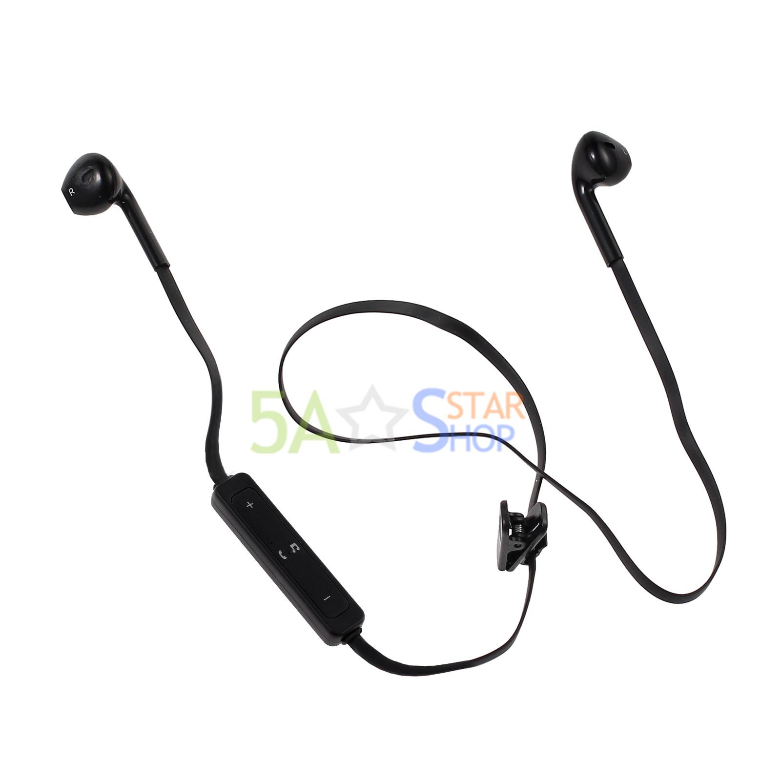 bluetooth wireless headset sport stereo headphone earphone. Black Bedroom Furniture Sets. Home Design Ideas