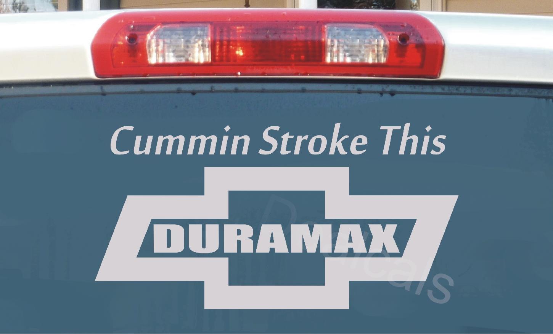 Duramax Stickers On Shoppinder Diesel Engine Diagram Chevy Vinyl Sticker Decal Cheverolet Cummin