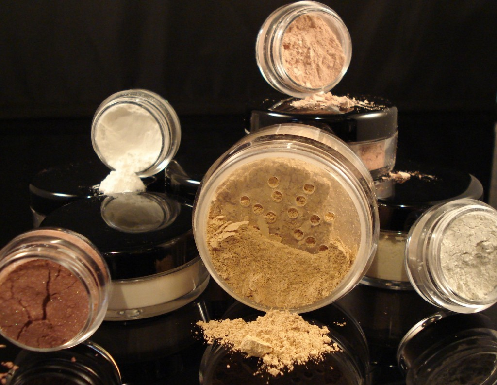 STARTER-KIT-Mineral-Makeup-Set-Bare-Skin-Sheer-Powder-Full-Size-Foundation-Cover