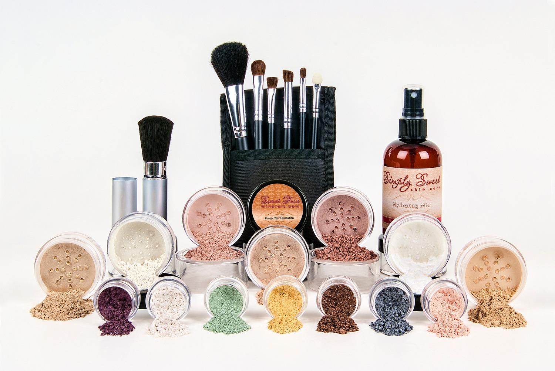 ultimate bare full size sheer natural cover mineral makeup set foundation kit ebay. Black Bedroom Furniture Sets. Home Design Ideas