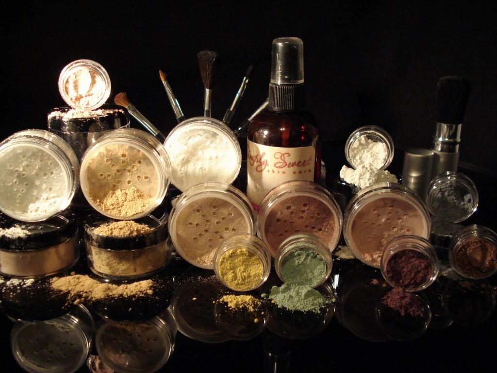 ULTIMATE-KIT-Full-Sz-Bare-Skin-Minerals-Makeup-Sheer-BRUSH-SET-Foundation-Cover