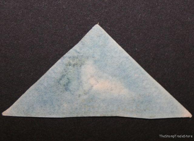 Cape of Good Hope triangular stamp Sg2 deep blue c49