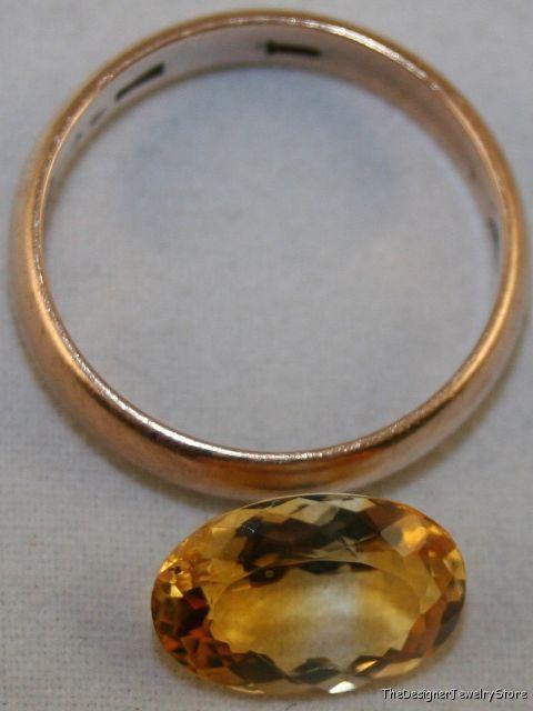 Golden Citrine 8x12 oval cut 2.4ct gemstone ci12