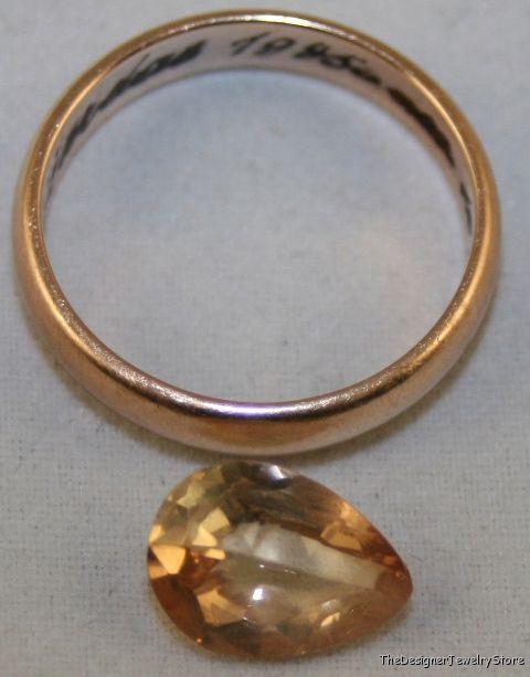 Natural golden Topaz 8x11 faceted pear 2.7ct gem  tz13