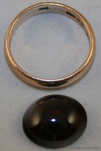 rhodolite garnet 12x14 cabochon 6 5ct gem ga6