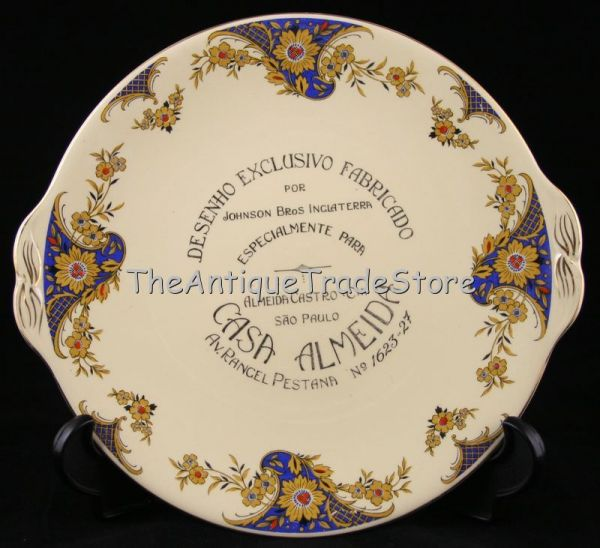 Art Nouveau & Art Deco plates and dishes